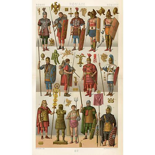 Roman Military Uniforms, 1888