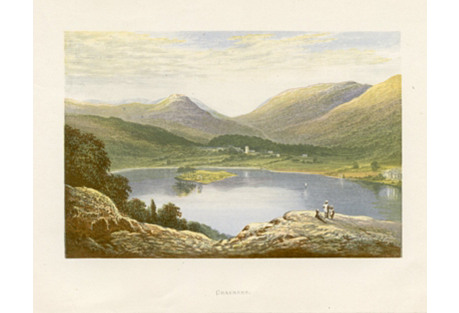 English Lake District Print - Grasmere