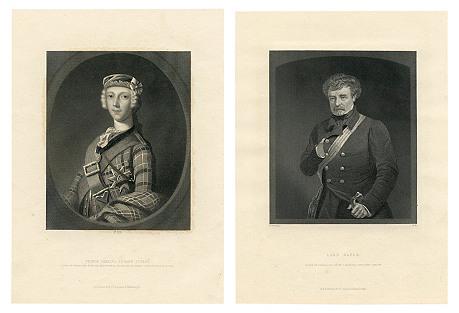 Scottish Nobility Portraits, Pair