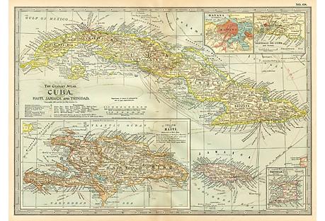 Cuba with Havana, 1911