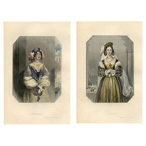 Women of Shakespeare, Pair