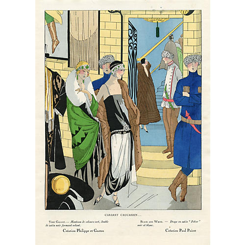 Art Deco Fashion Print