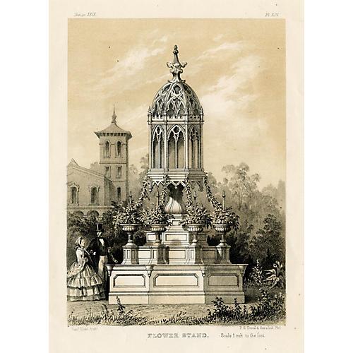 Victorian Flower Stand, 1860
