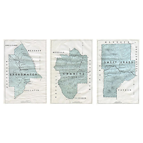 1900 Montana County Maps, S/3
