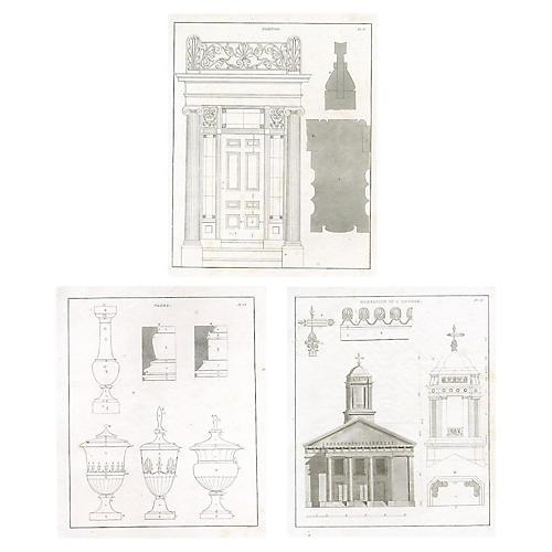 S/3 Architecture Prints, 1851