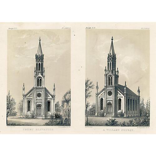 19th-C. Village Church