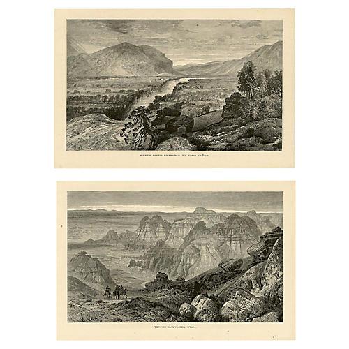 American Southwest Landscapes, S/2