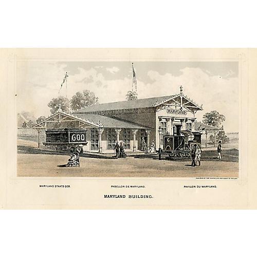 Maryland Centennial Expo, 1876