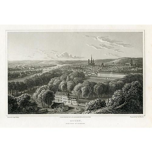 View of Rouen, 1822