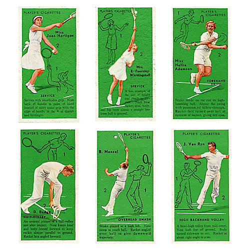 English Tennis Greats, S/6