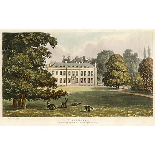 Poltimore House Aquatint