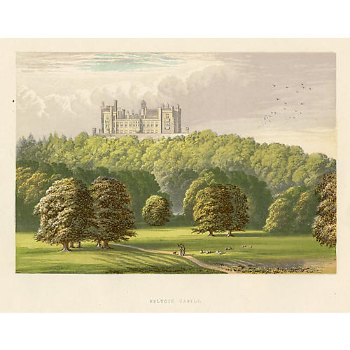 Belvoir Castle, 1880