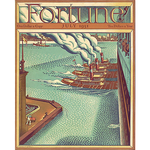 Fortune Magazine Cover, July 1931