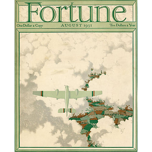 Fortune Magazine Cover, August 1931