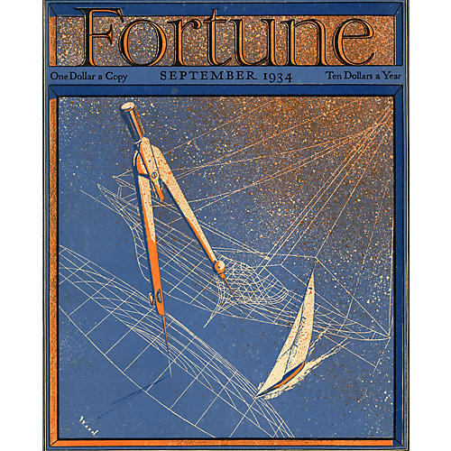 Fortune Magazine Cover, September 1934