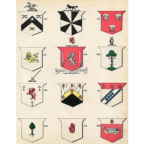 Irish Coats of Arms, 1900