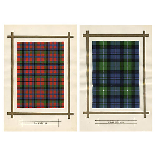 Tartans of Scottish Clans, Pair
