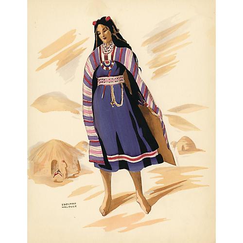 Costumes of Bolivia, 1941