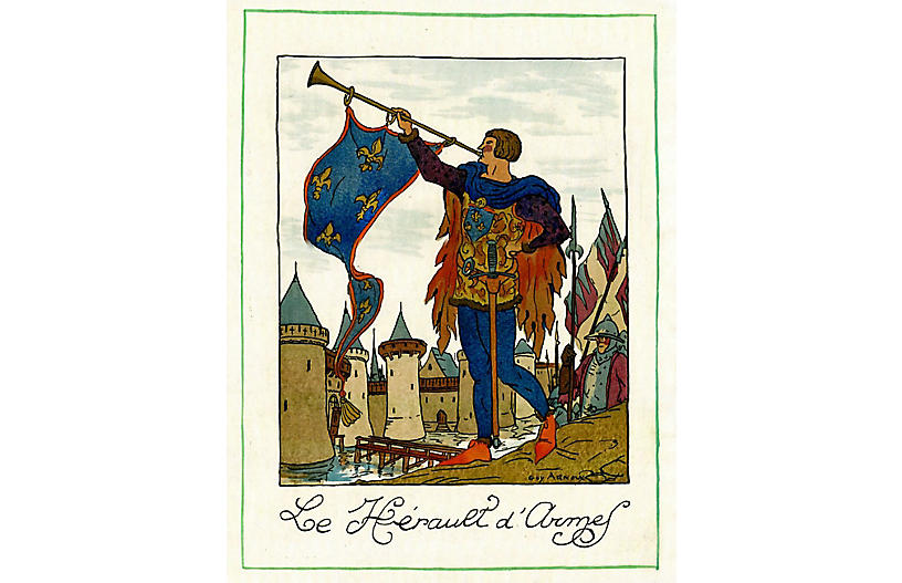 Call to Arms by Guy Arnoux, 1918