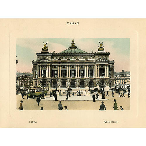 Paris Opera House, 1915