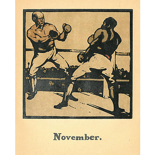 British Sporting Almanac - Boxing, 1898