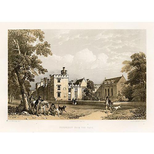Penshurst from the Park, 1881