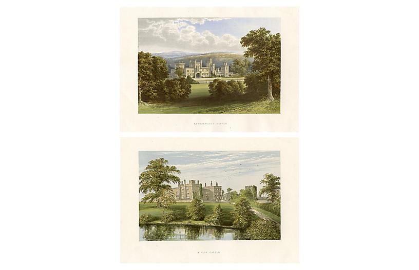 Castles of Yorkshire, Pair