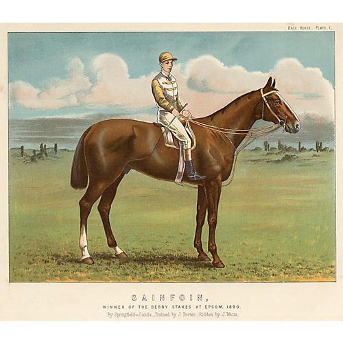 Sainfoin, 1890 English Derby Winner