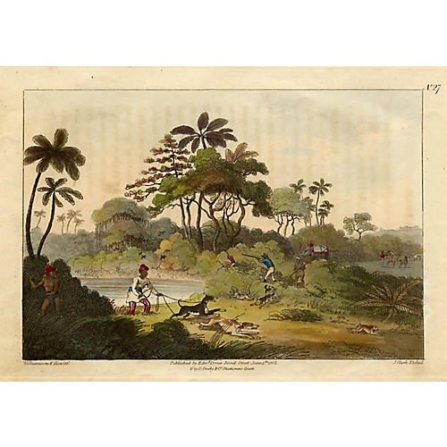 Shooting at the Edge of the Jungle, 1819