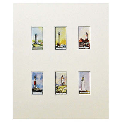 1926 Lighthouse Cards, S/6