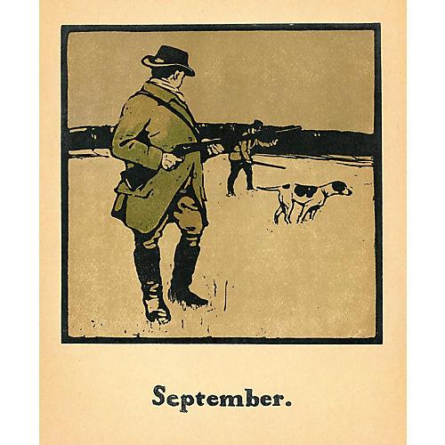 British Sporting Almanac - Hunting, 1898
