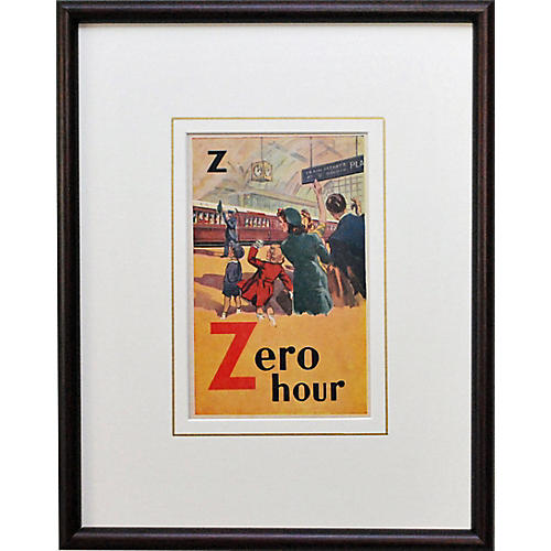 Zero Hour at the Train Station, 1935