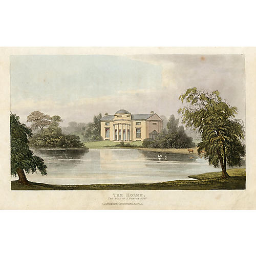 The Holme, a London Mansion, C. 1830