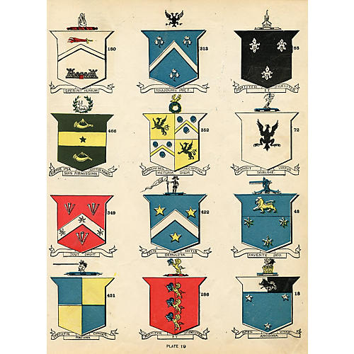 Irish Coats of Arms, 1900