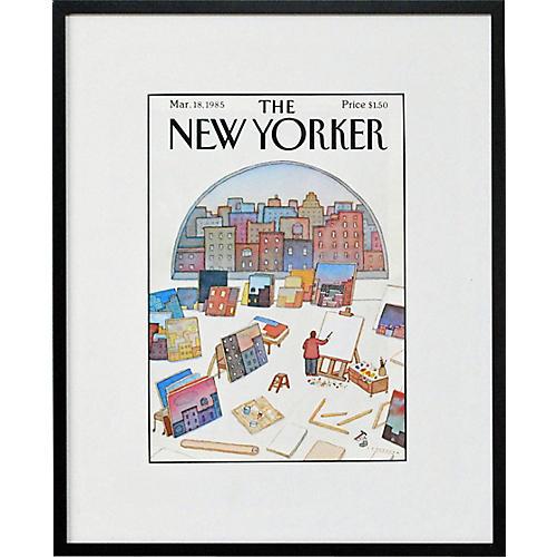 The Artist's Studio, 1985