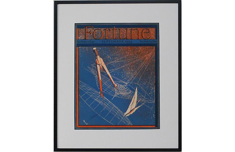Fortune, September 1934, Sailing Theme