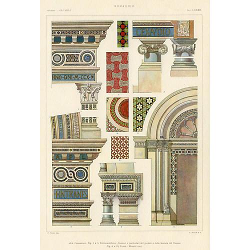 Italian Cathedral Architecture, Rome