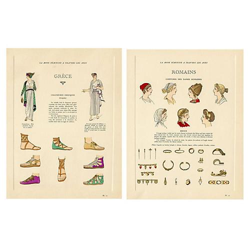 Greco-Roman Fashions & Accessories, Pair