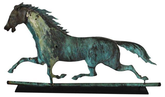 19th-C. Running Horse Weathervane