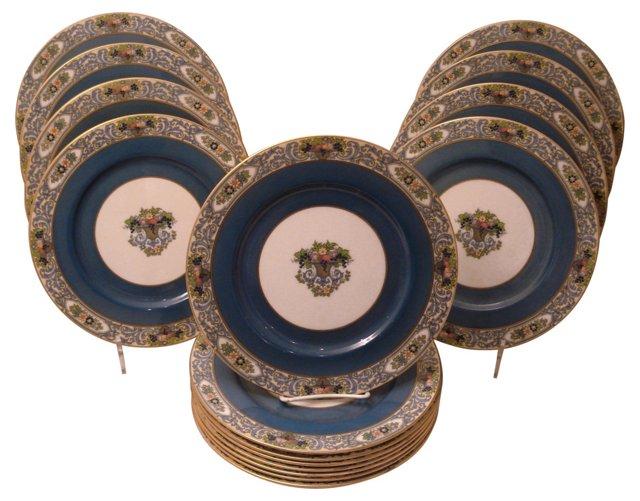 Lenox Floral Service Plates, Set of 16