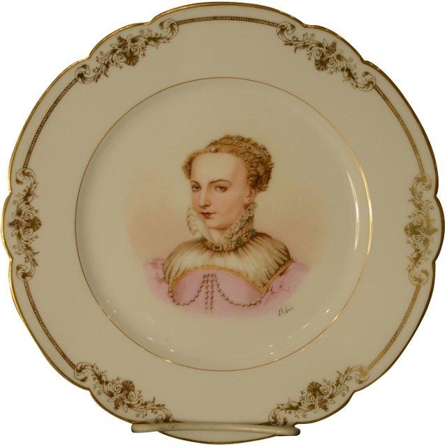 Catherine de Médici Sèvres Plate