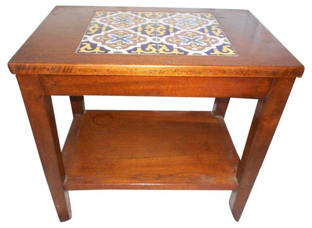 Center Tile Side Table