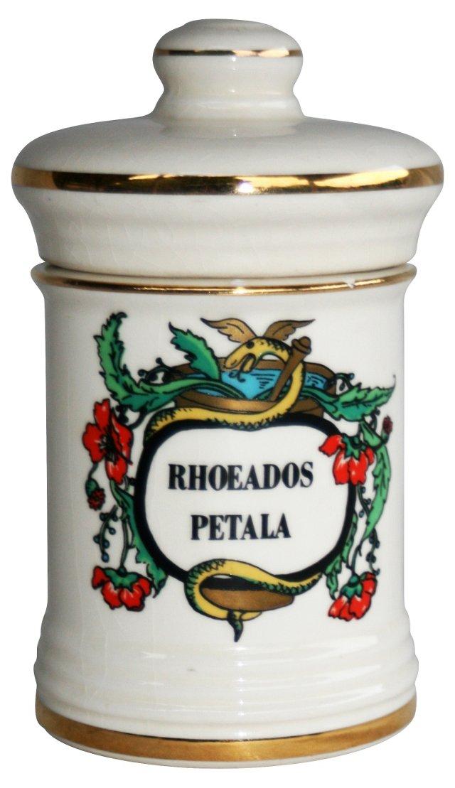 1950s  Apothecary Jar