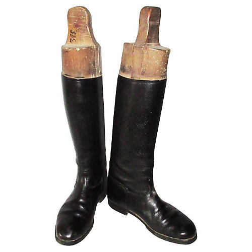 English Equestrian Riding Boots & Trees