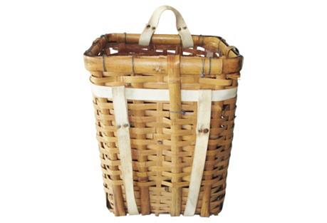 European Gathering Basket Backpack