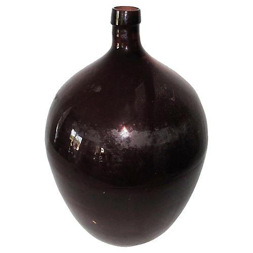 French Demijohn Bottle