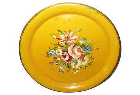French Tole Tray