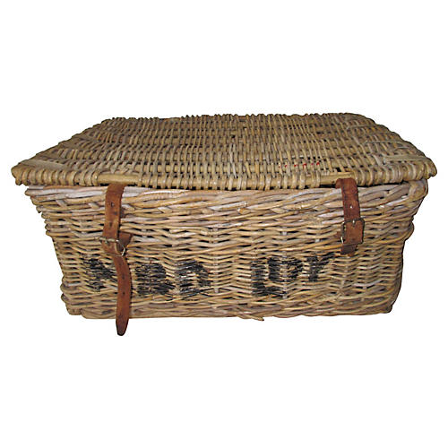 French Shipping Basket Crate