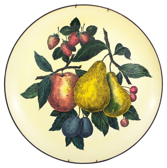 Pear & Apple Wall Platter