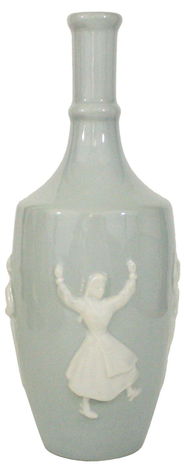 Portuguese Porcelain Decanter